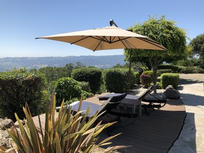 Photo for Escape to Sonoma, Amazing Views, Secluded, and a Private Pickle Ball court!