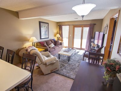 Photo for Wildwood Wonder - Lovely 2 bed/2 bath unit at Notch, steps away from pool!