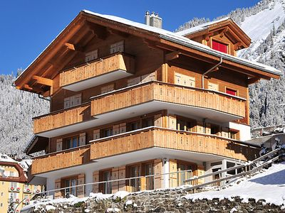 Photo for Apartment Silberhorn  in Wengen, Bernese Oberland - 4 persons, 2 bedrooms