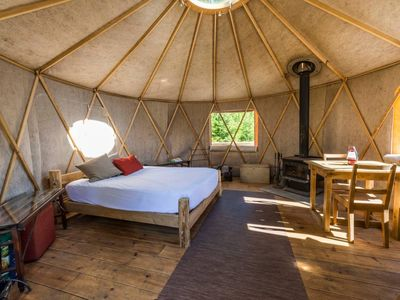 Photo for YURTA YURT at Terra Perma