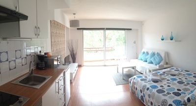 Photo for Studio apartment in Alcúdia with Internet, Pool, Air conditioning, Lift (680569)