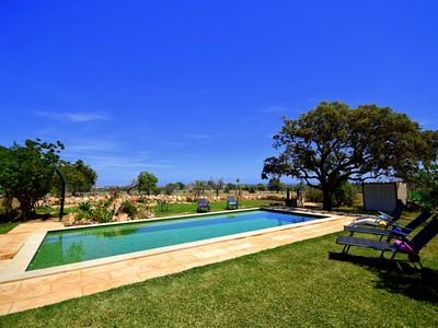 Photo for Typical Majorcan finca in south-east Majorca, just 3km to the beach!