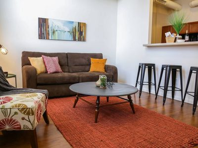 Photo for BOHO INDUSTRIAL 2BR APT NORTH OF MASS AVE