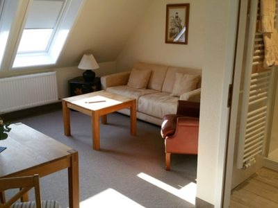 Photo for Double room in the attic / living room and bedroom - Hotel Clausen