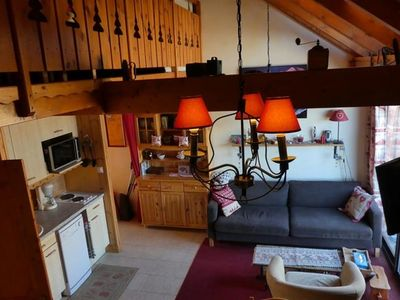 Photo for Apartment 8 people duplex 53m² Means 4 - close to the slopes Réallon