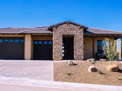 This is the One! Brand new home with colorful mountain views & open spaces.
