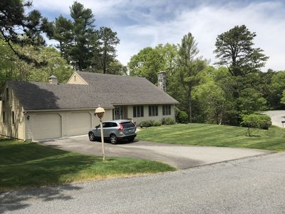Photo for PLUSH COTUIT HOME, CENTRAL AIR, TV IN ALL ROOMS, BEACH STICKER, QUIET STREET!