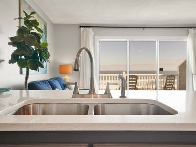 Photo for Awesome Location!!  A Modern/Updated Ocean Front Condo Awaits your arrival!