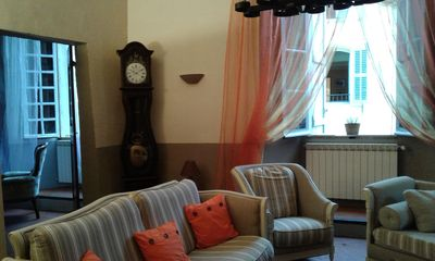 Photo for APARTMENT OF CHARACTER 120M2 IN ANCIENT CASTLE FEODAL