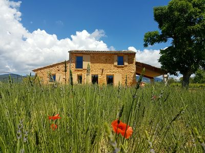 Photo for Bastidon with heated pool and private garden in the Luberon