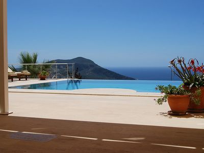 Photo for Villa with Private Infinity Pool and Breathtaking Sea Views