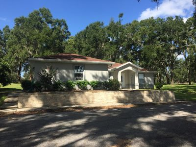 Photo for Gorgeous Renovated Home Located on 30 Acres in Ocala Horse Country