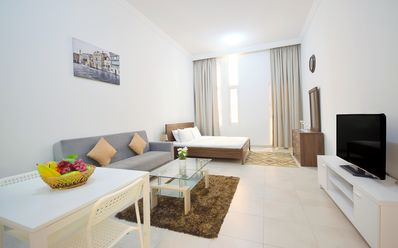 Photo for Cosy Studio Apartment in Dubai Sports City