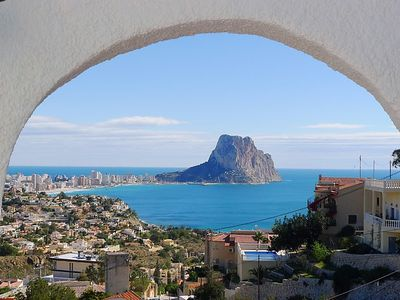 Photo for Vacation home Vista Ifach  in Calpe/ Calp, Costa Blanca - 4 persons, 2 bedrooms