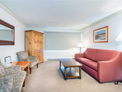 Photo for Flexible Summer Policies - Location, Location, Location! 1-Bedroom Suite Near Lifts, River