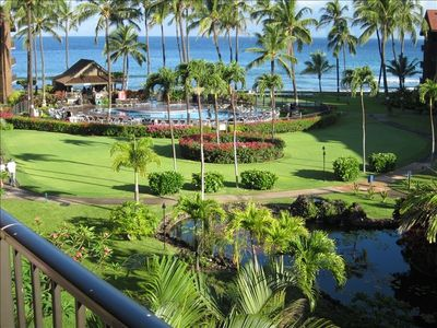 Excellent views from Lanai/Deck