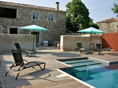Photo for Luxury Holiday Cottage & Swimming Pool In Small Hamlet Near St. Antonin-N-Val