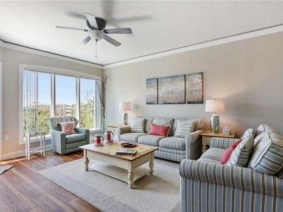 Photo for 5th floor completely updated ocean front villa in Palmetto Dunes!