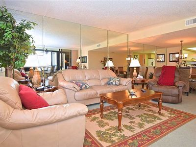 Photo for Gulf and Bay Club 102B, Sleeps 4, Beach Front, Ground Floor, 2 Bedrooms