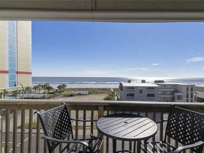 Photo for Unobstructed Views, Newly Updated Kitchen! Short Walk To The Beach! Book today!