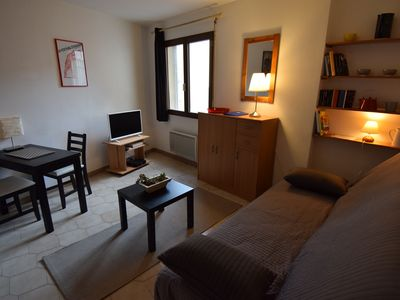 "Photo for quiet studio in Avignon ""intramural"", ideal for the festival and tours"