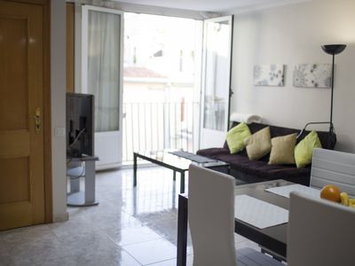 Photo for TTdSSa Pl Ciegos: 2 Bedrooms, AC, WIFI and common terrace at downtown !