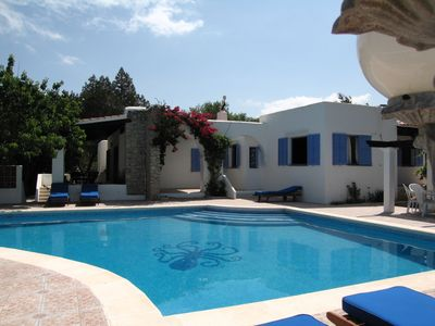Photo for Beautiful house with large pool for 8 San Jose special August price only 4100€