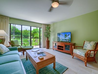 Photo for VRBO's NEWEST LISTING: Stunning Remodeled Condo Steps to Kamaole II