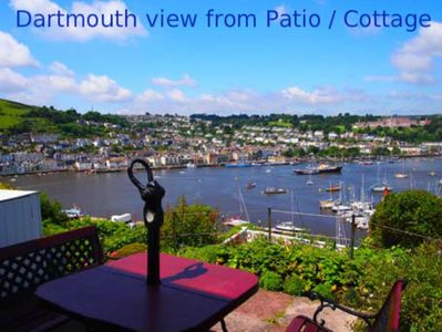 Patio View of Dartmouth  R Dart Estuary