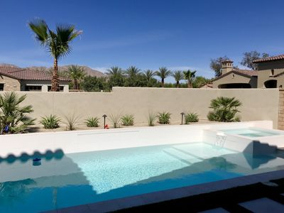 Photo for Beautiful Oasis with Private Pool, Spa and Views