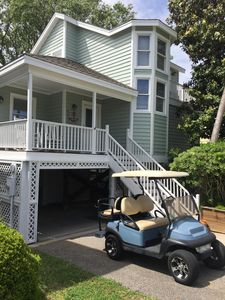 Photo for Wild Dunes Best-Steps to Beach: Golf cart & Sportscard