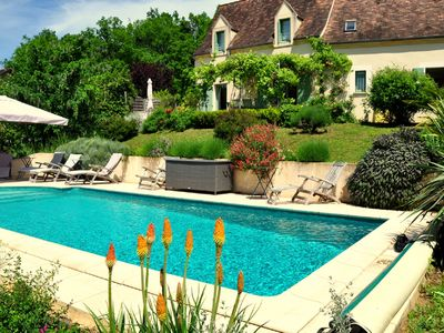Photo for holiday home in the heart of black Perigord with private pool and garden