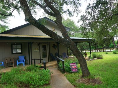 Photo for Charming Wimberley Vacation Home - Sleeps 10 - Close to EVERYTHING!