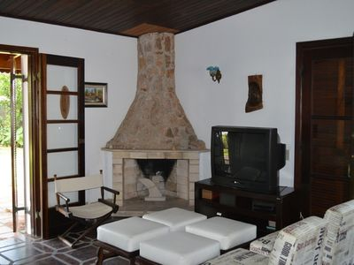 Photo for Holiday house with large garden. Best beach in Guarujá