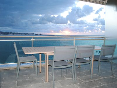 Photo for Apartment with terrace and breathtaking views of the bay of St Jean de Luz
