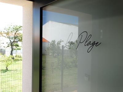 "Photo for 300 m from the center of Croix de Vie, contemporary apartment ""La Plage"""