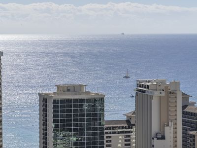Photo for Penthouse Studio in Western Waikiki - convenient location, & stunning views!