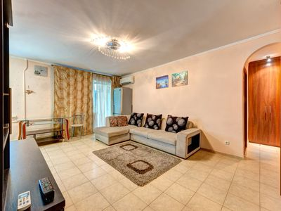 Photo for Stylish two-bedroom apartment on the street of Eugene Konovalets