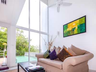 Photo for 3 Bedroom Overlooking Patong, Jane Style