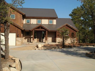 Photo for Beautiful Upscale Mountain Retreat - 7 miles from East gate of Zion Nat'l Park