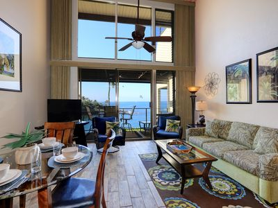 Photo for Condo - 2 Pools! Complete Ocean View from Lanai & Living Room!  (VRBO #827215)