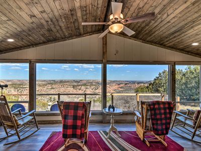 Photo for NEW! Renovated Home Overlooking Palo Duro Canyon!