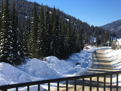 Photo for Echo Landing - SKI in SKI out  to Morissey & Orient Express Lifts w/hot tub