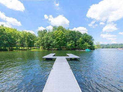 Lakefront Home w/Private Dock, Hot Tub, Sauna, & Fire Pit!