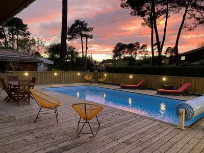 Photo for Villa Squirrels in Andernos on the Bassin d'Arcachon. Not overlooked, quiet