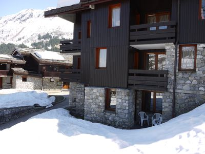 Photo for Charming apartment in Valmorel slopes feet