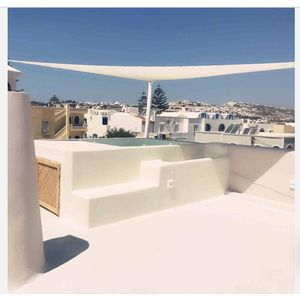 Photo for Santorini's Diamond house with terrace jacuzzi near city center and airport/port