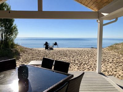 Beautiful Luxury Waterfront Property Directly on Lake Huron Beach