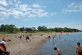Summertime fun at Lakeview Beach