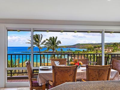 Photo for ~Platinum Maui Vacations~ONE LEVEL~PANORAMIC OCEAN VIEWS~HIGHLY UPGRADED VILLA!